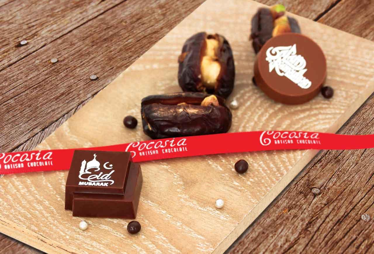 Arabian Ramadan Dates and Chocolate from Cocosia Artisan Chocolates
