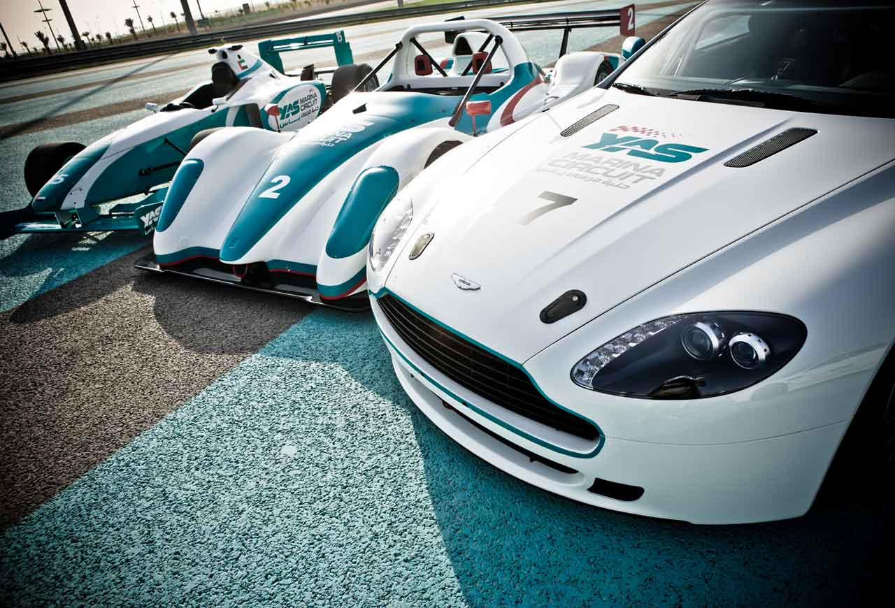 THIS SATURDAY ALL EXPERIENCES MUST GO AT YAS MARINA
